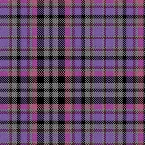 Pink Purple Gray and Black Plaid