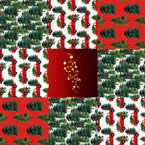 Christmas Quilt Rotated