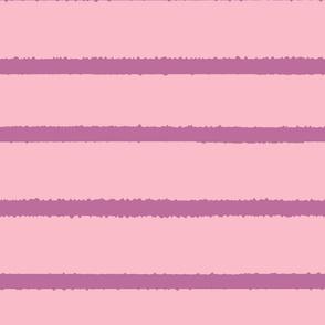 Wide Jagged Stripes Pink_Lavendar