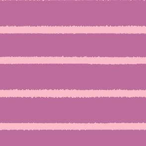 Wide Jagged Stripes Lavendar_Pink