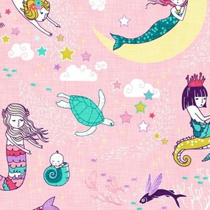 Mermaid Lullaby (candy rose) MED