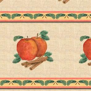 Apple and Cinnamon Stripe 2