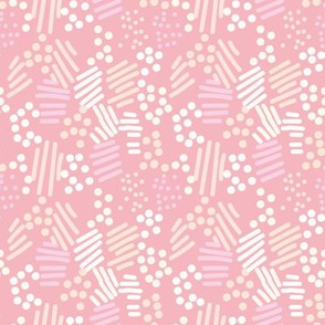 abstract pink sprinkles