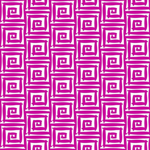 Maze in Magenta