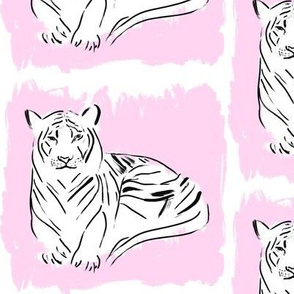 Tigers on Pink