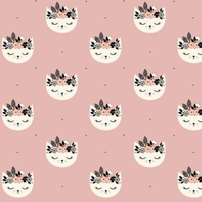 Cat Blossom - Dusty Pink small