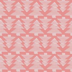 fir tree coral white