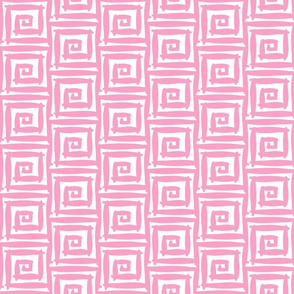Maze in Shell Pink