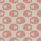 Sleeping Papercut Fox Small