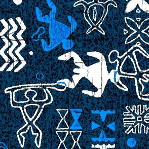 Hawaiian Petroglyphs 2b