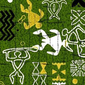 Hawaiian Petroglyphs 2c