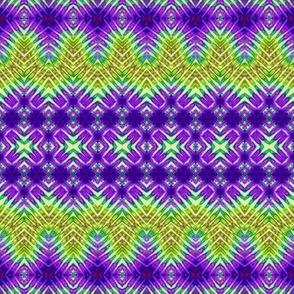 Purple & Green Tears, Waves & Crosses