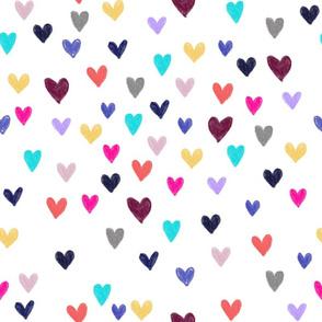 Sparkle or Die Heart Pattern