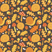 cute fall bug pattern