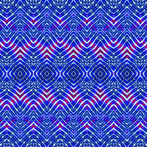Dark Blue Zebra