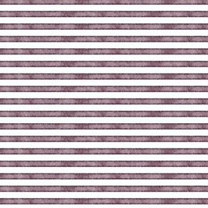 """1/4"""" plum salted watercolor stripes"""