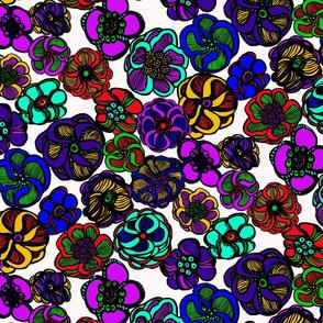 Kaleidoscope of Flowers