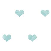 Watercolour Hearts - Custom Light Aqua