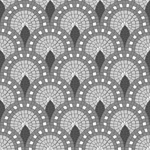 Mosaic - Parisian Tiles – grey