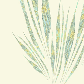 alas mariposa en fondo amarillo
