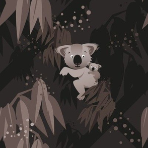 Koala in the Forest