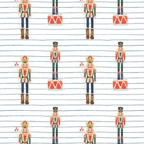"2.5"" Nutcracker Toy Soldier Stripes"