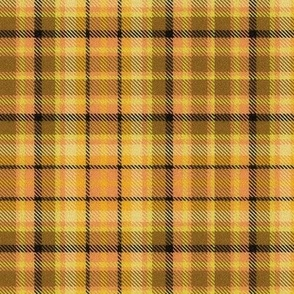 Pumpkin Pie Plaid in Browns and Oranges