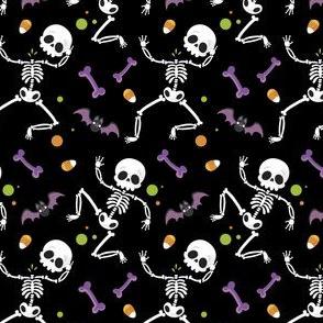 Halloween Skeleton Cute Candy Ghost-01