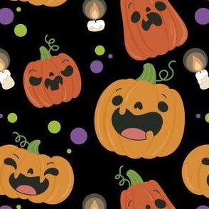 Halloween Pumpkin Cute Kids Halloween-01