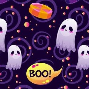 Halloween Ghost Cute Halloween-01