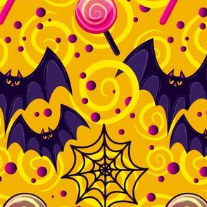 Halloween Bats Cute Halloween-01
