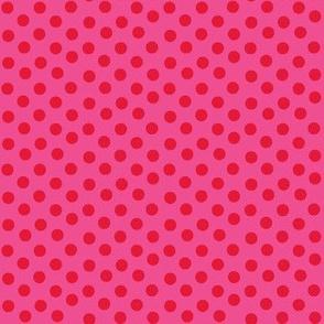 Red Hot Polka Dots