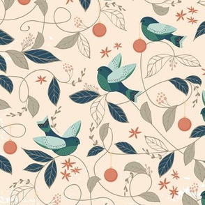 Peace Birds { Peach }