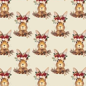 "2.5"" Harvest Bunny Tan Back"