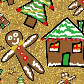 Gingerbread Family Christmas