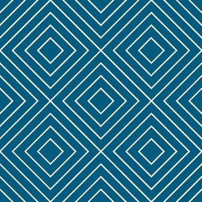 Geometric blue_02