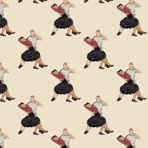 Modern Jive dancing