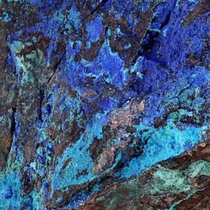 gemstone azurite