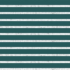 white linen + spruce stripes