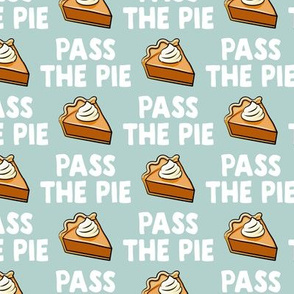 Pass the pie - pumpkin pie - mint - LAD19BS