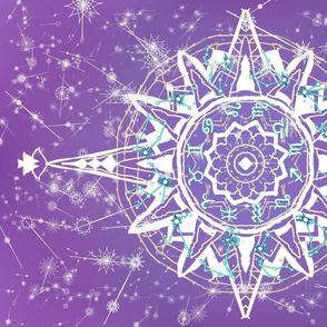 Purple Turquoise Zodiac Tea