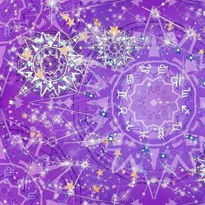 Purple Zodiac Tea Time