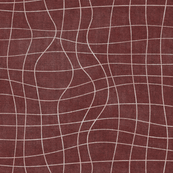 topography grid red canvas look