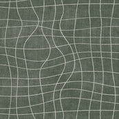 topography grid Sage green canvas look