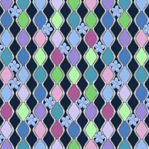 lattice blue