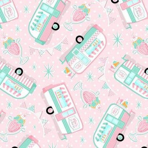 Ice Cream Parlor_Bg Pink