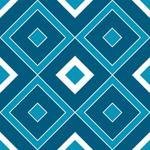 Geometric blue_06