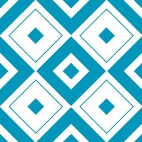 Geometric blue_07