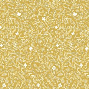 flower ochre smaller