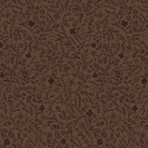 floral brown smaller